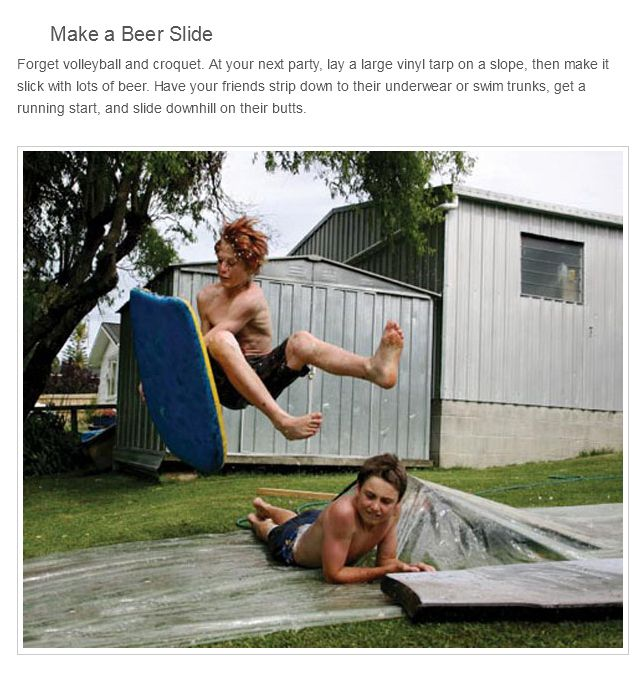 Things To Do With Beer... (25 pics)