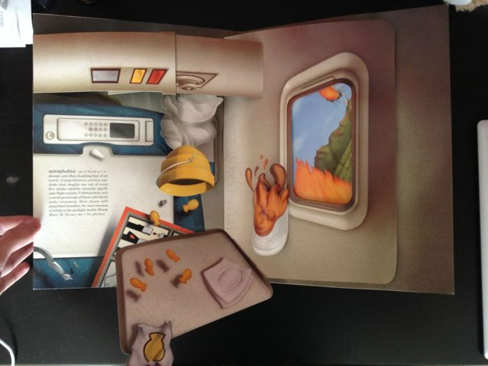 The Pop-up Book of Phobias (11 pics)