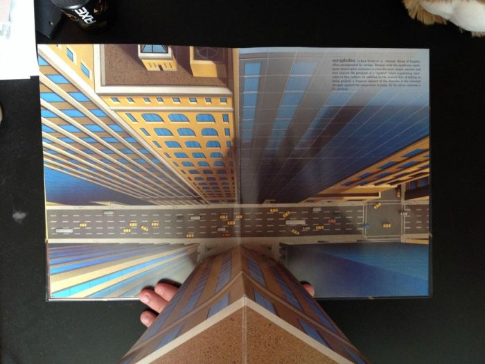 The Pop-up Book of Phobias (11 pics)