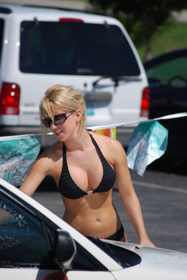 Girls carwash images 14