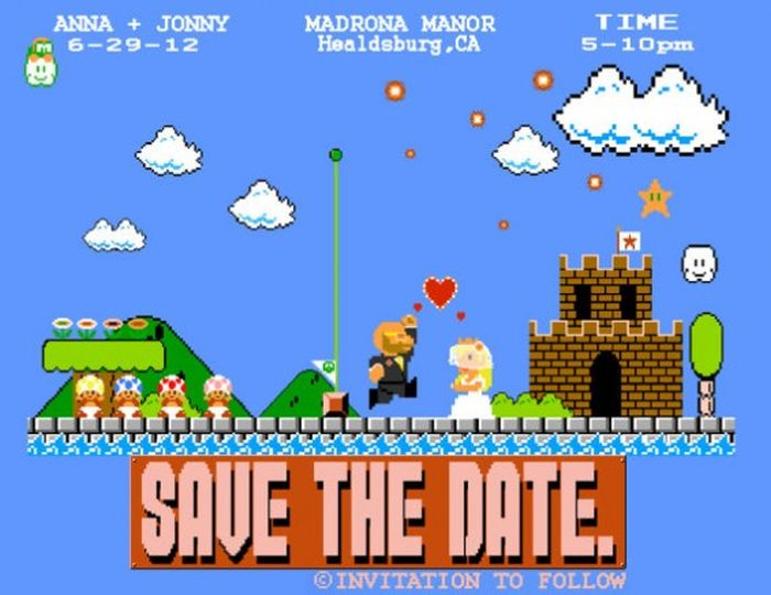 Geeky Wedding Invitations (19 pics)