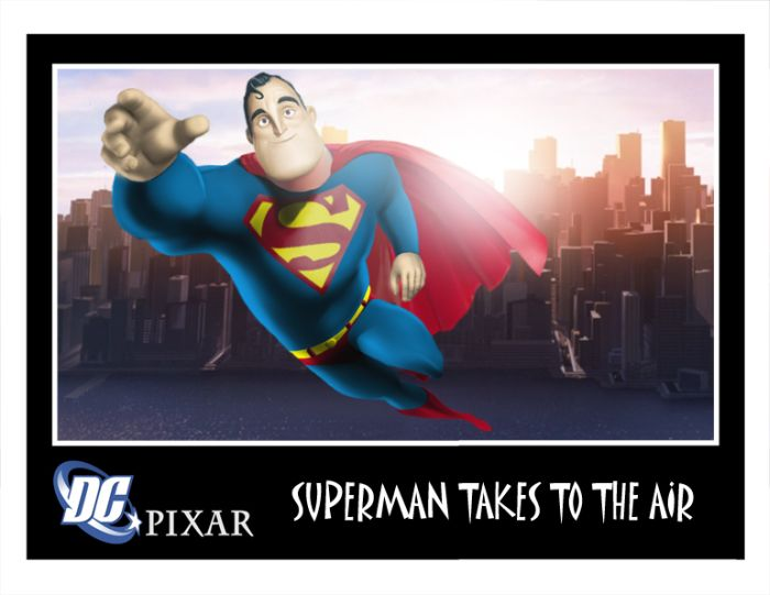 Pixar Meats Marvel and DC (50 pics)