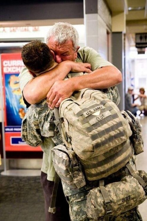 Returning Home After War (46 pics)