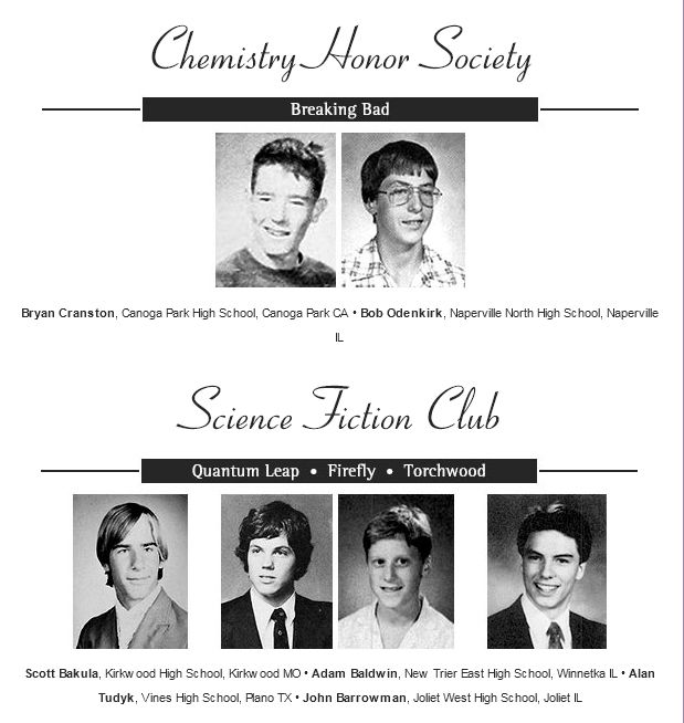Yearbook Photos of TV Stars Together (20 pics)