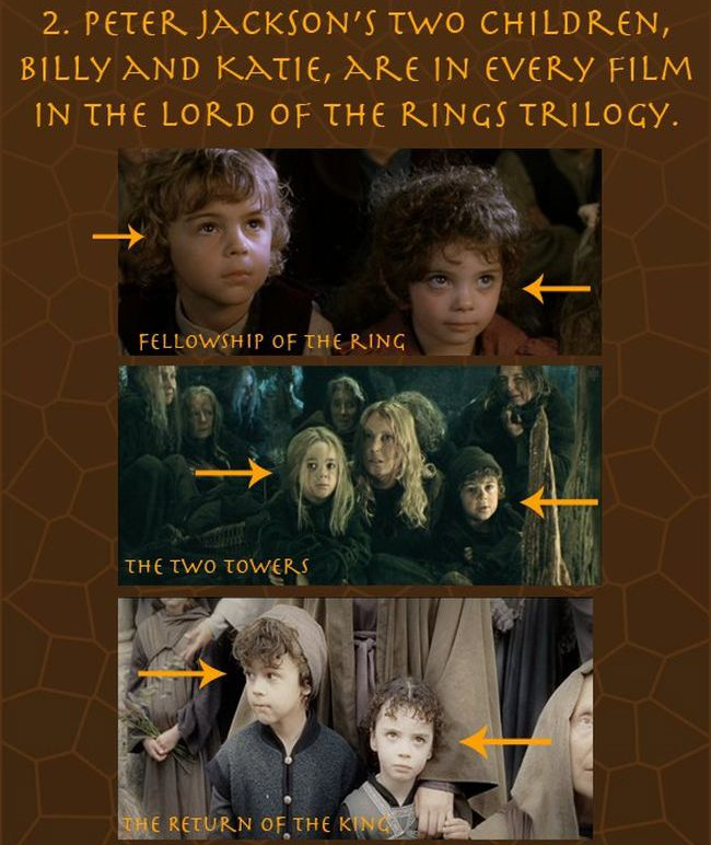 Lord of The Rings Facts (8 pics)