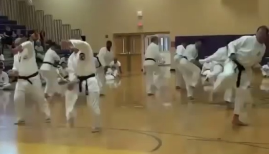 The Funniest Ever Black Belt Masters Showing Skills