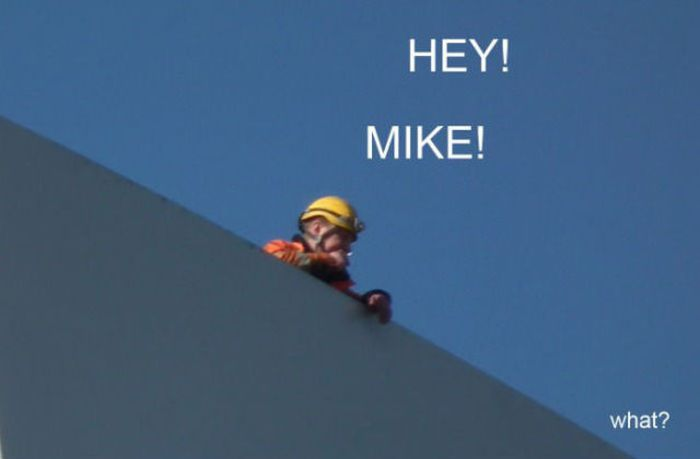 Hey! Mike! (4 pics)
