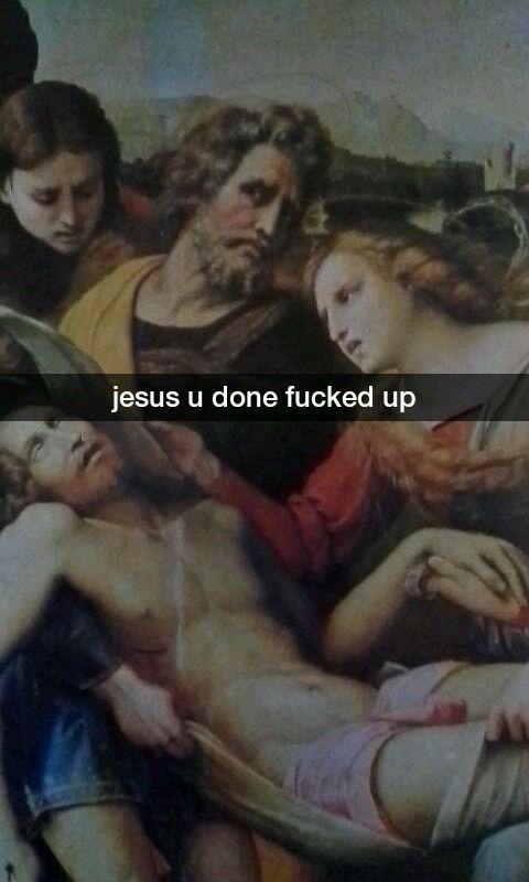 Art History Snapchats (24 pics)