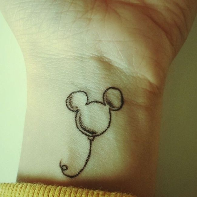 Disney Tattoos (35 pics)