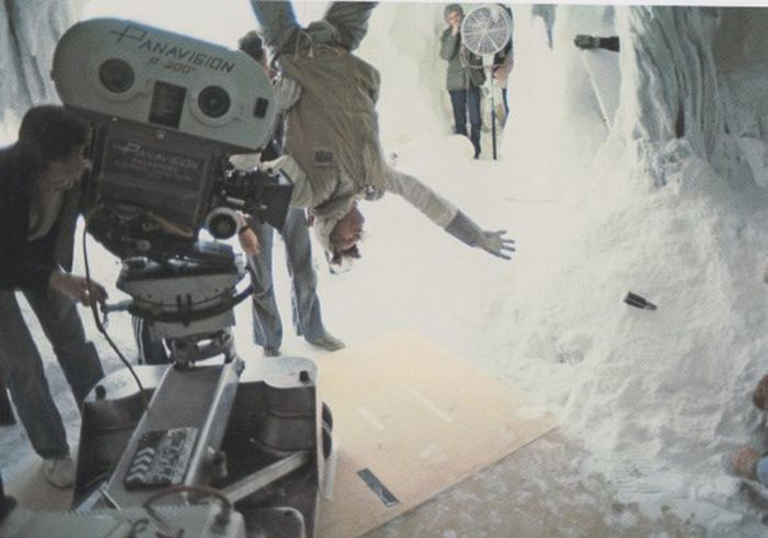 On the Set of the Star Wars Movies (50 pics)