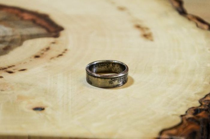 DIY Coin Ring (14 pics)