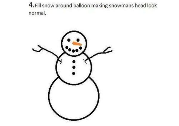 Snowman Prank (6 pics)