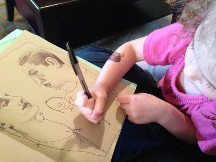 4-Year-Old Daughter's Art (15 pics)