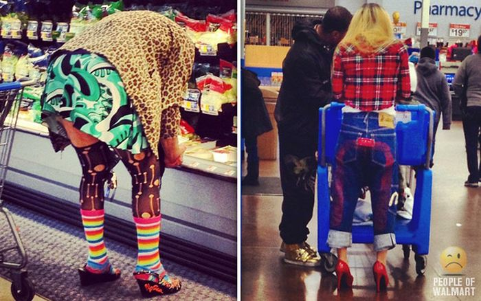 People of Walmart. Part 24 (40 pics)