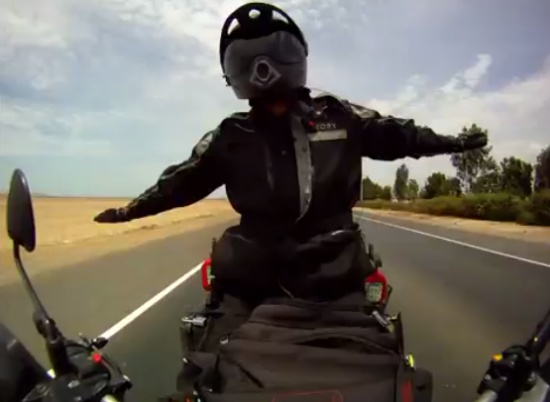 Amazing Motorcycle Ride From Alaska to Argentina in 500 Days