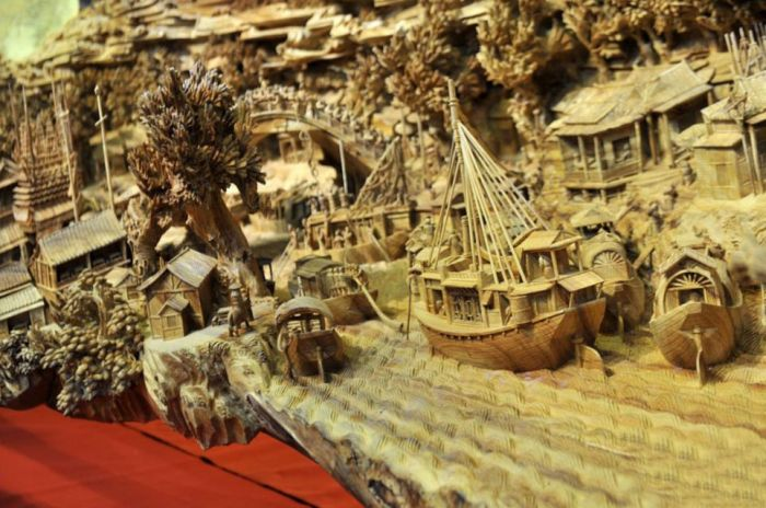 Great Wood Carving Art (5 pics)