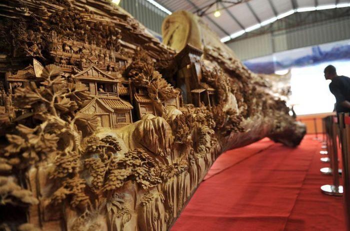 Great Wood Carving Art (5 pics)