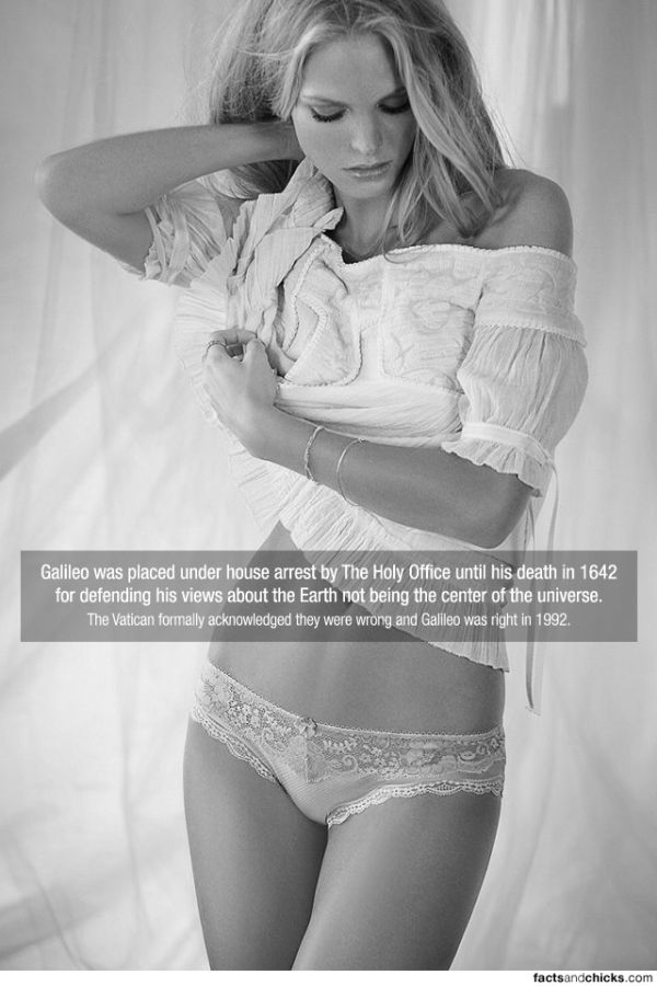 Hot Girls with Random Facts. Part 4 (50 pics)