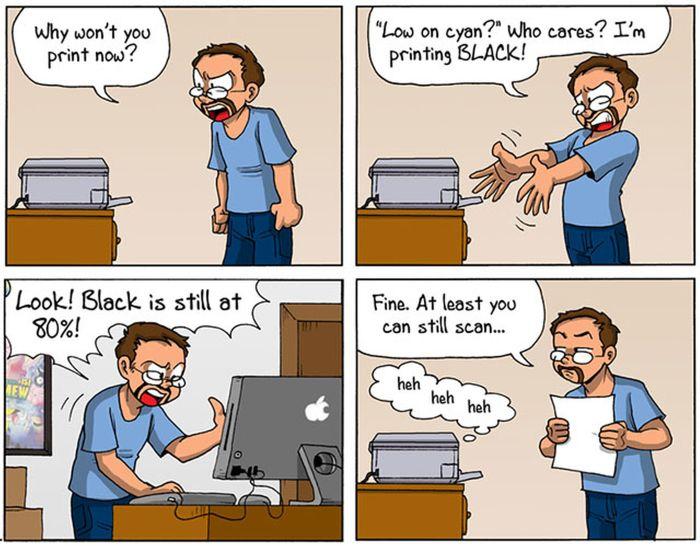 Why We Hate Printers (18 pics)