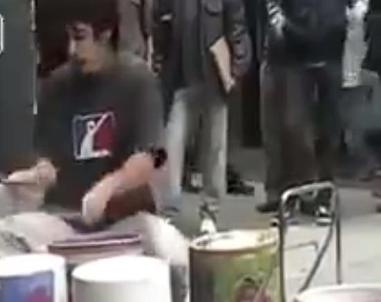 Street Techno Drummer Skills