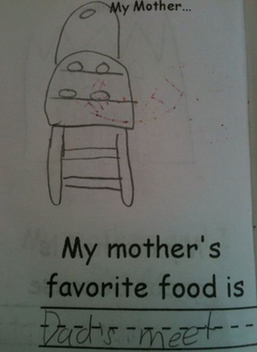 Inappropriate Children's Drawings (25 pics)