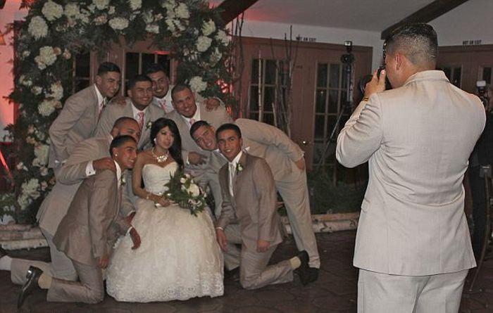 Girl with Terminal Leukemia Gets Wedding Wish (6 pics)