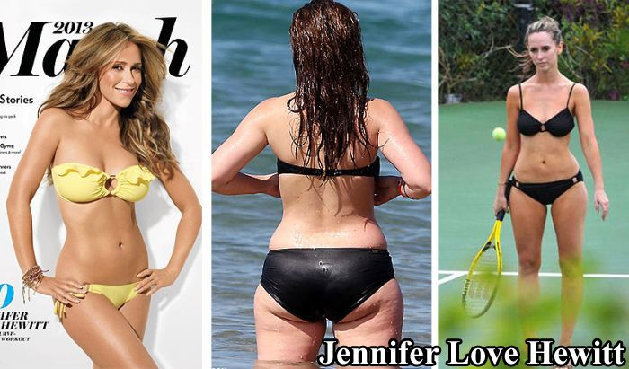 Famous Girls Without Retouching (10 pics)