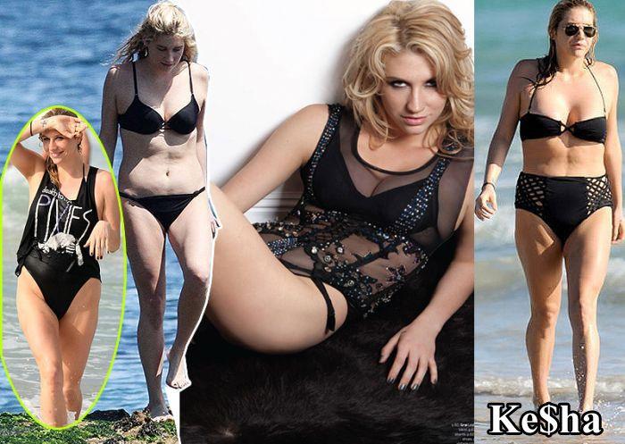 Famous Girls Without Retouching (10 pics)