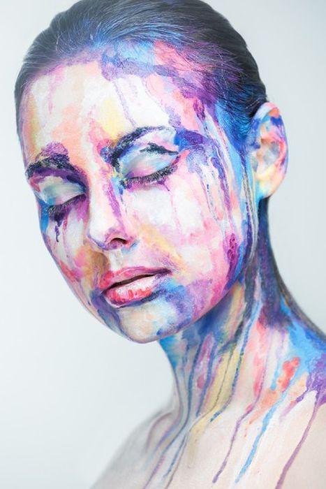 Beautiful Face Paintings (25 pics)