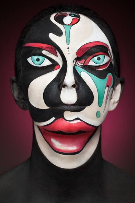 Beautiful Face Paintings (25 pics)