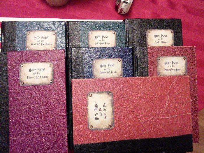 Potter Gift Set (39 pics)