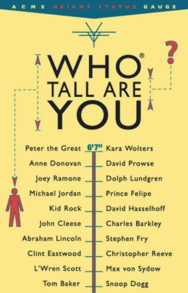 Who Tall Are You? (6 pics)