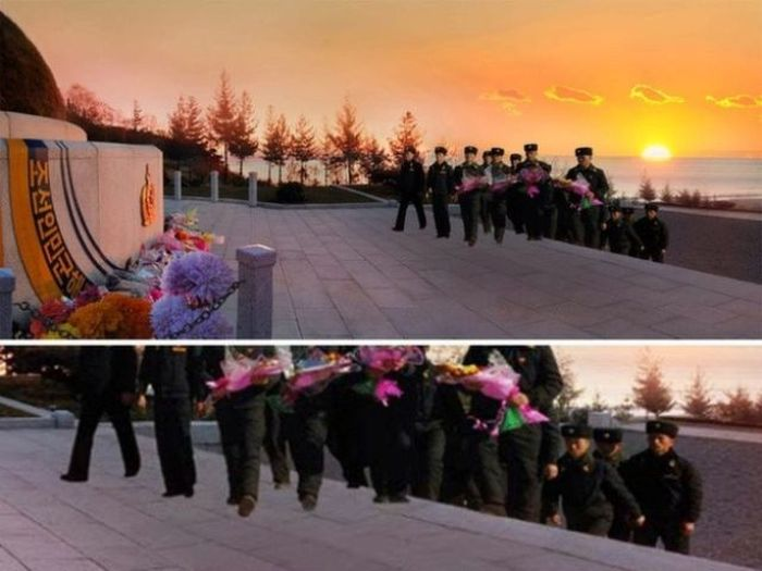 North Korean Officials Get Photoshop Totally Wrong (10 pics)