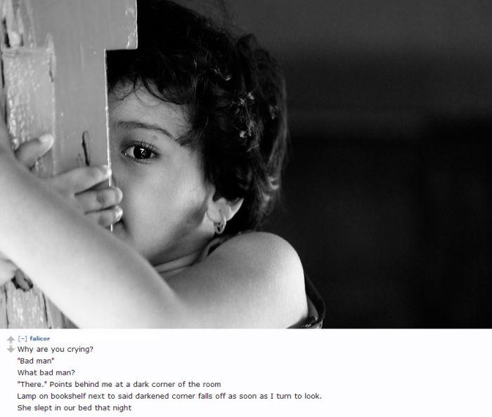 Creepy Things Kids Tell Their Parents (17 pics)