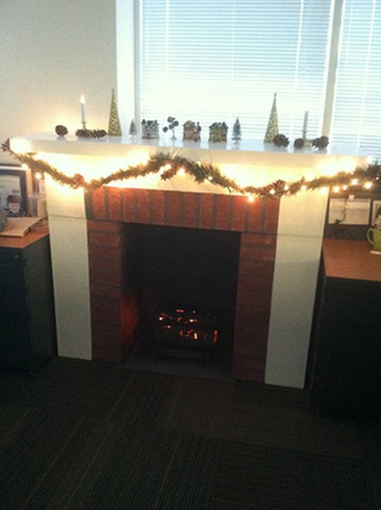 DIY Fireplace (13 pics)