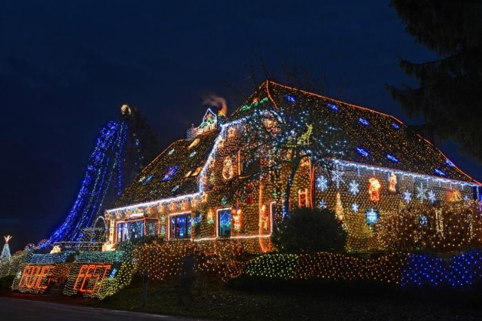 450,000 Christmas Lights (8 pics)