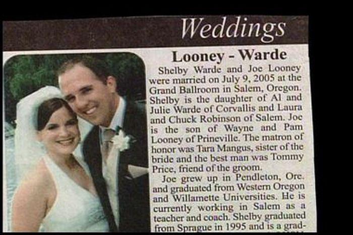 Unfortunate Name Combinations (18 pics)
