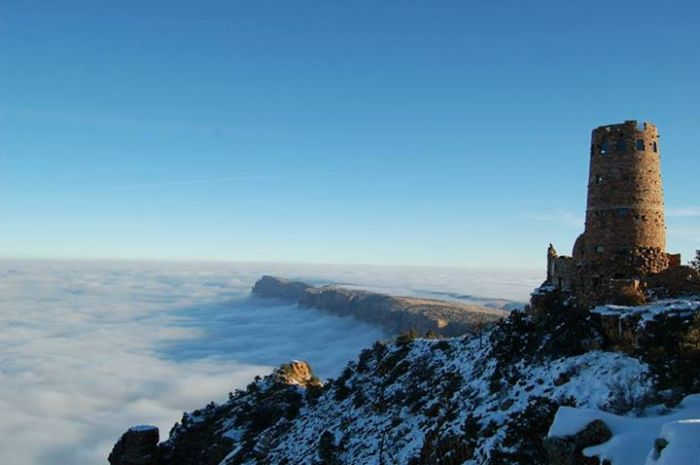 Fog in Grand Canyon (22 pics)