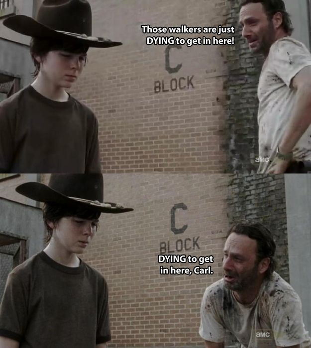 Dad Jokes by Rick Grimes (19 pics)