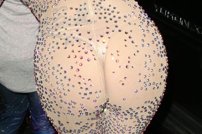 Lady Gaga Flashing Panties (6 pics)