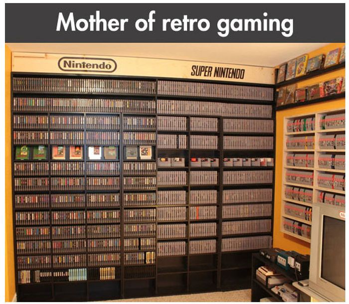 Retro Gaming Fan (10 pics)