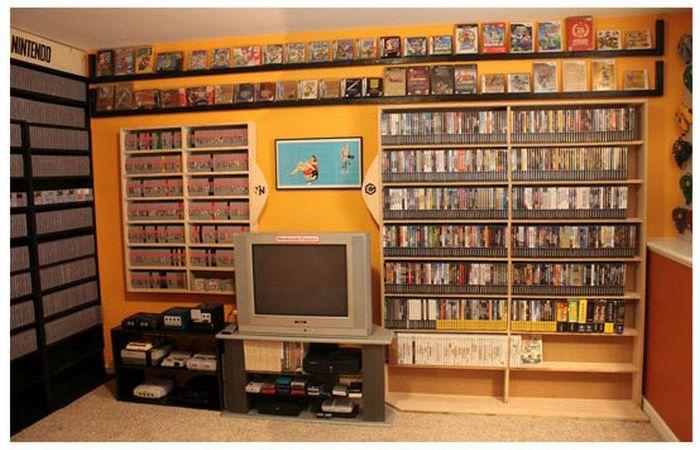 El mayor coleccionista de videojuegos del mundo Retro_gaming_room_02