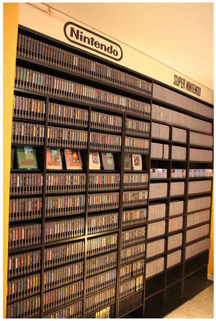 El mayor coleccionista de videojuegos del mundo Retro_gaming_room_09