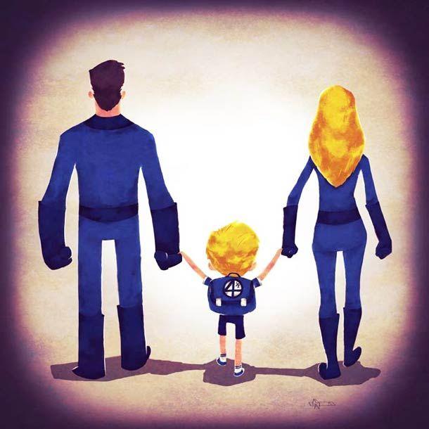 Super Families (13 pics)