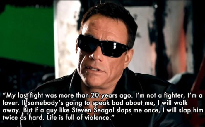 Things Jean-Claude Van Damme Said (9 pics)