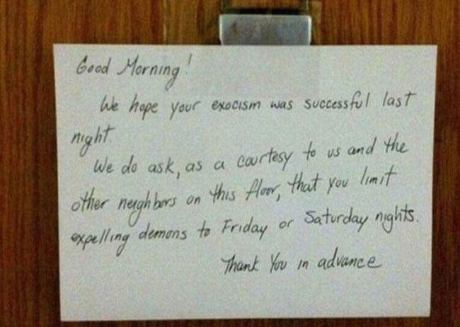 Passive Aggressive Notes (11 pics)