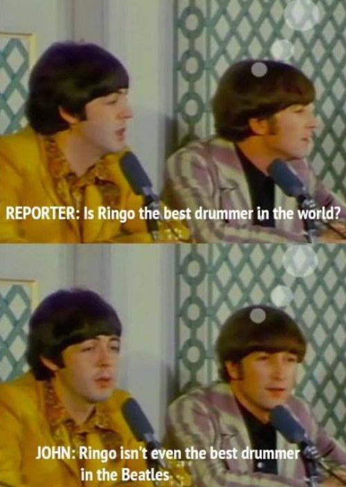 How The Beatles Answered the Questions (10 pics)