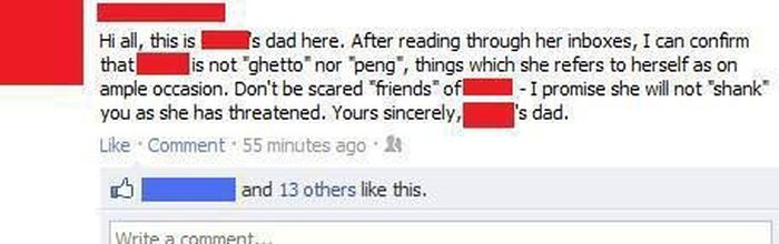 Embarrassing Facebook Dads (20 pics)