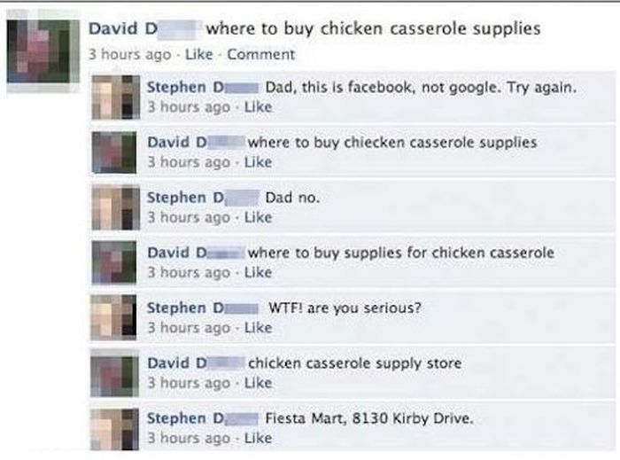 Embarrassing Facebook Dads (20 pics)