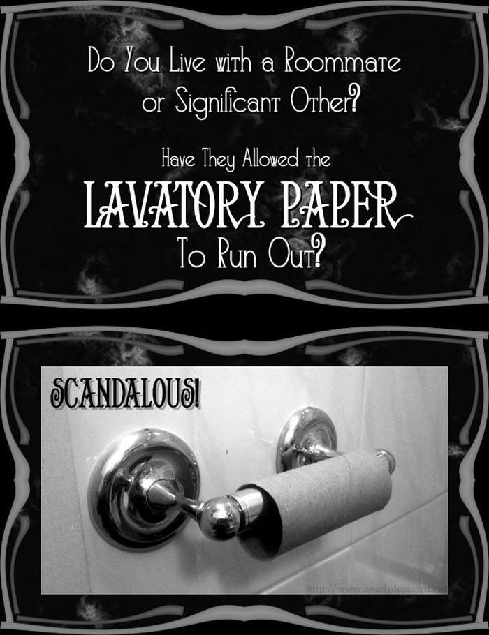 Toilet Paper Prank (11 pics)